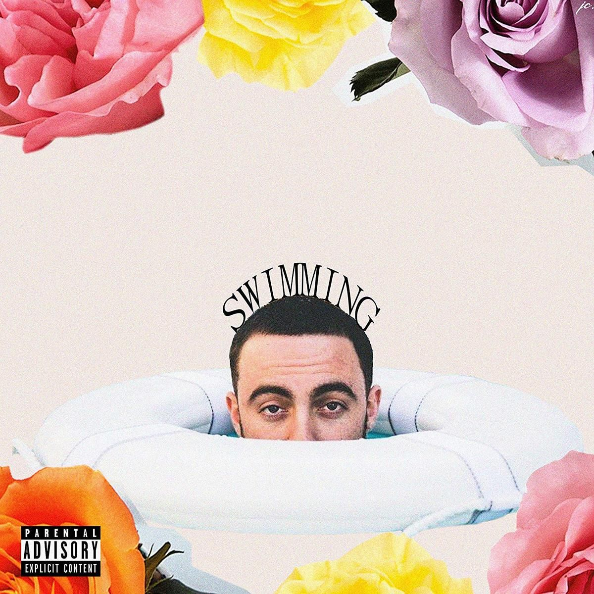 Mac miller swimming poster in 2020 rap album covers mac