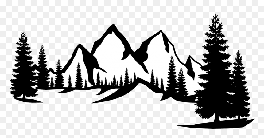Mountain Silhouette Divider Mountain Silhouette Hd Png Download Is Pure And Creative Png Image Uploaded By Designer Mountain Silhouette Mountain Drawing Png