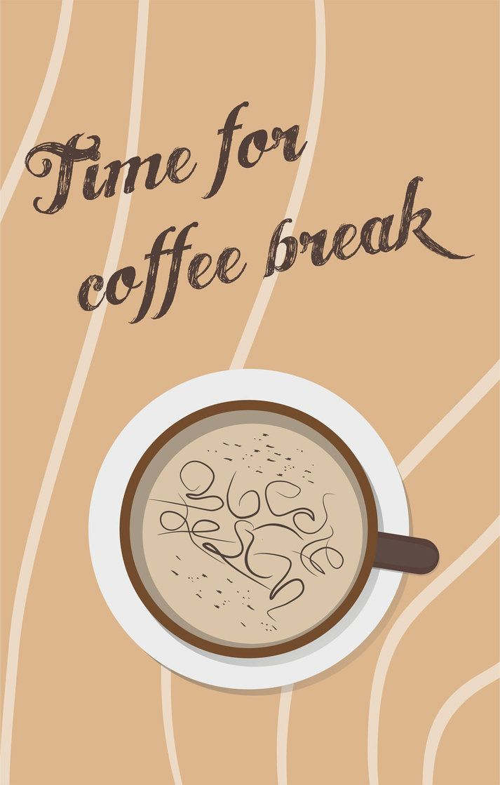 Time for a #coffee break