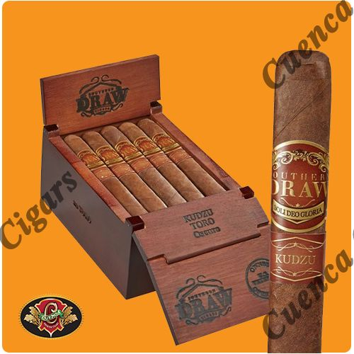 Southern Draw Kudzu Robusto Cigars - Dark Box of 20 - Best Online prices Southern Draw Kudzu Robusto Cigars - Dark Box of 20 at Cuenca Cigars. Shop Southern Draw Cigars receive FREE SHIPPING on orders over $199. Latest addition to the acclaimed Southern Draw Cigars line. Using a Nicaraguan Oscuro double-fermented wrapper and Binders and fillers fr..Price: $177.90