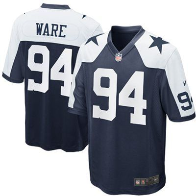 Nike DeMarcus Ware Dallas Cowboys Throwback Game Jersey - Navy Blue ... a3d880a65