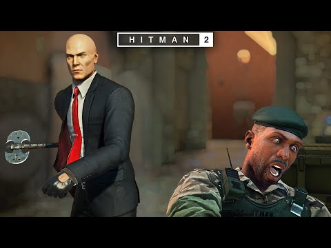 Hitman 2 Abstruse Contract In Marrakesh Silent Assassin Suit Only Played In Gold Style Youtube Gold Style Marrakesh Style