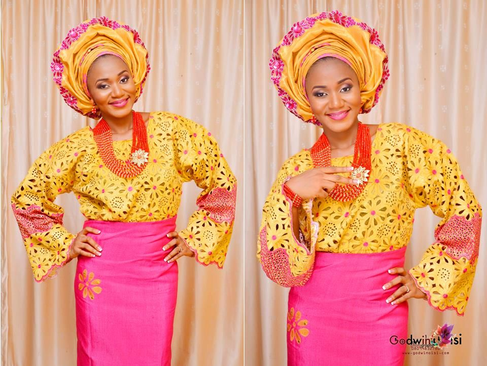 Nigerian Wedding Yoruba Traditional Engagement Debbie George