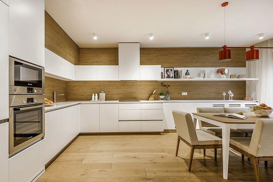 просторна кухня в светли тонове Interior Design Studio Interior Interior Design