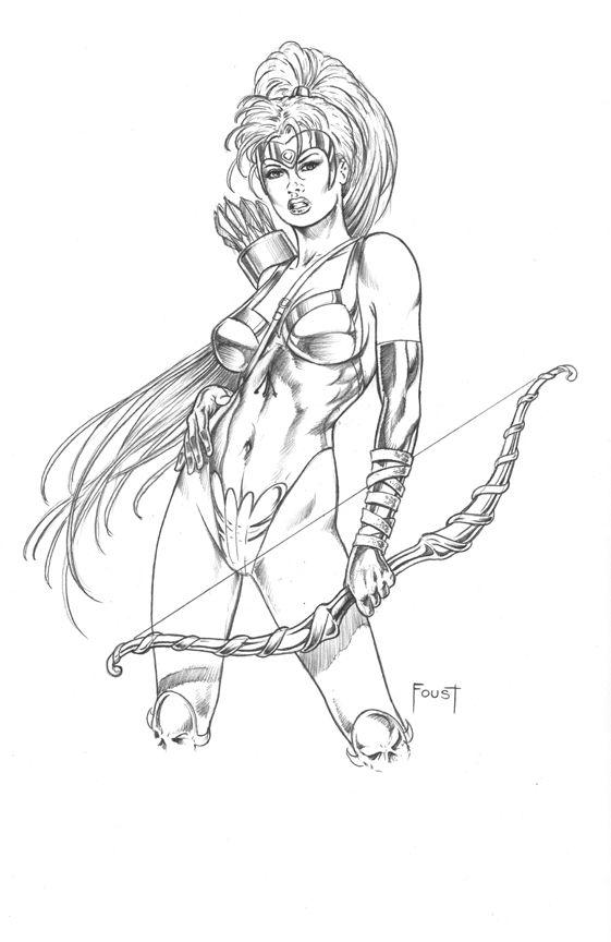Artemis By MitchFoust On DeviantArt