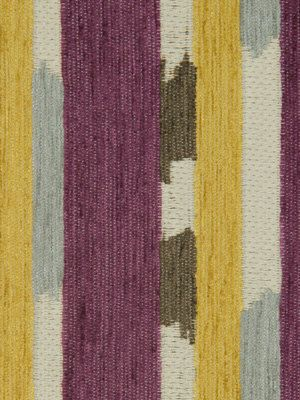 Grey And Purple Striped Heavyweight Upholstery Fabric For Furniture Yellow Home Decor Multicolored Pillow Cover Material