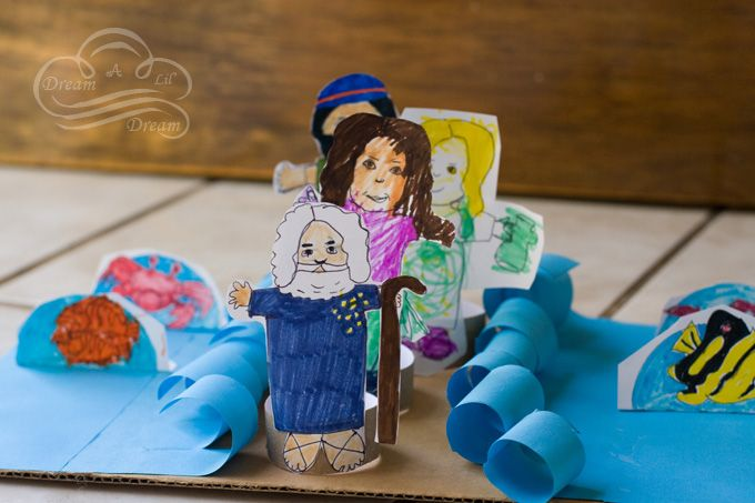 Israelites Crossed The Red Sea Craft Ideas For Sunday School