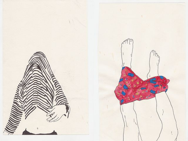 Cute Simple Line Art : Simple line drawings drawing illustrations
