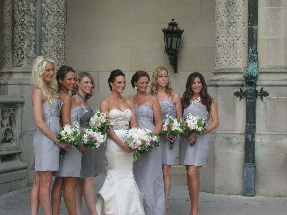 Pre Wedding Photos With My Bridal Party J Crew Bridesmaid Dresses