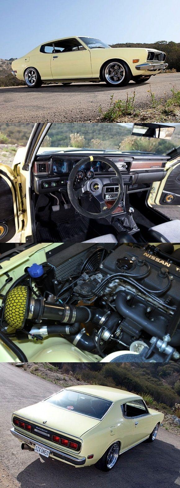 300hp 1974 Datsun 610 Turbo | Nissan/Datsun | Pinterest ...