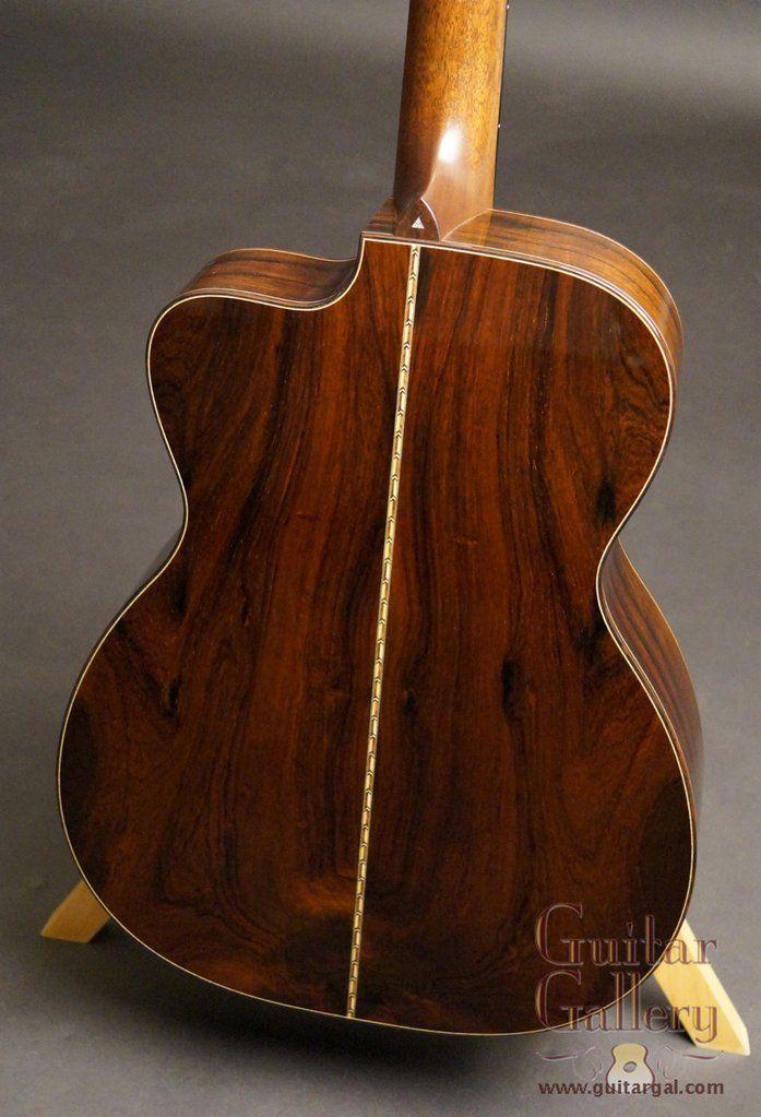 Bourgeois Brazilian Rosewood Soloist Cutaway Winter Namm Rosewood Cutaway Guitar