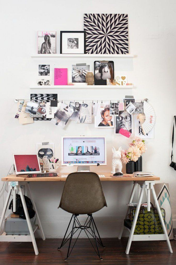 50 ideias de decoração de home office   Estilo