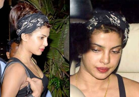 10 Pictures Of Priyanka Chopra Without Makeup Bollywood Makeup