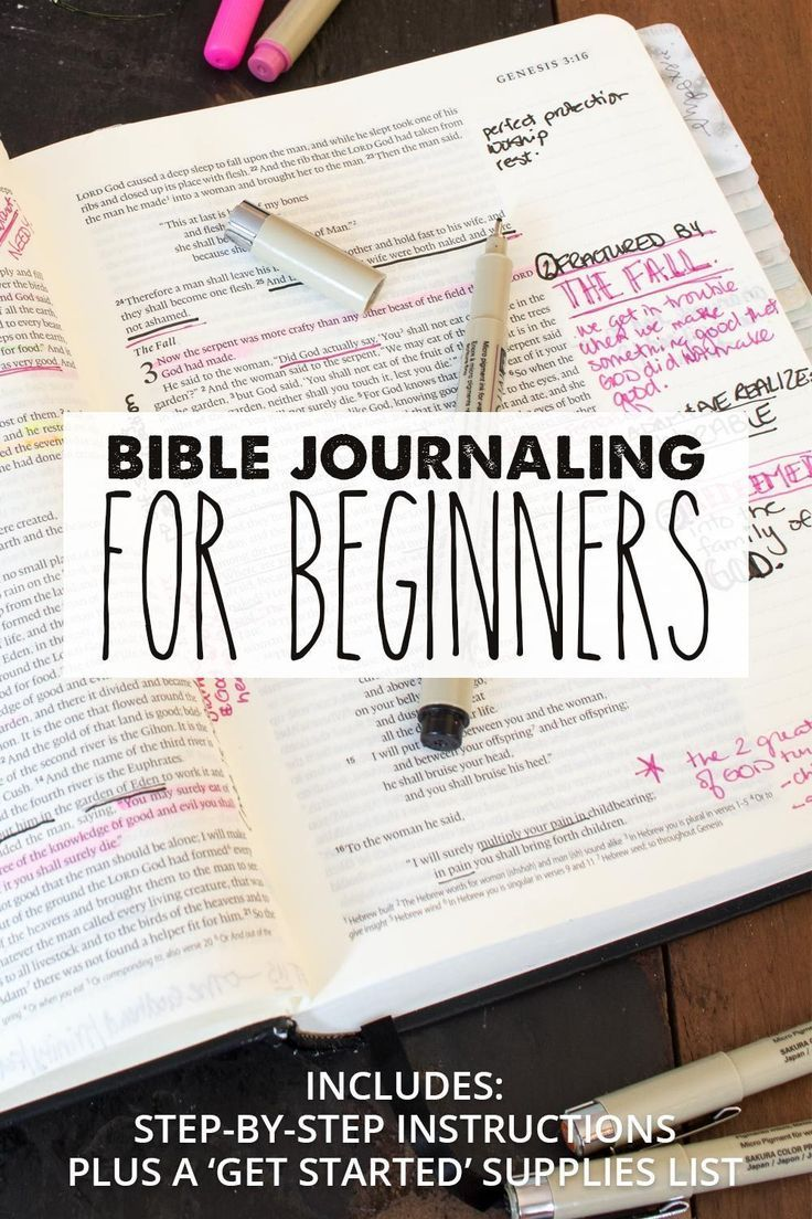 How to Bible Journal - Easy Bible Journaling Tips for Beginners to Start