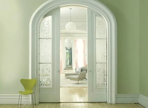 Benjamin Moore Pale Green Color of the Year in 2020
