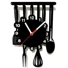 eeb502297a0 Relógio de Parede Decorativo Cozinha. Relógio de Parede Decorativo Cozinha  Relogio ...