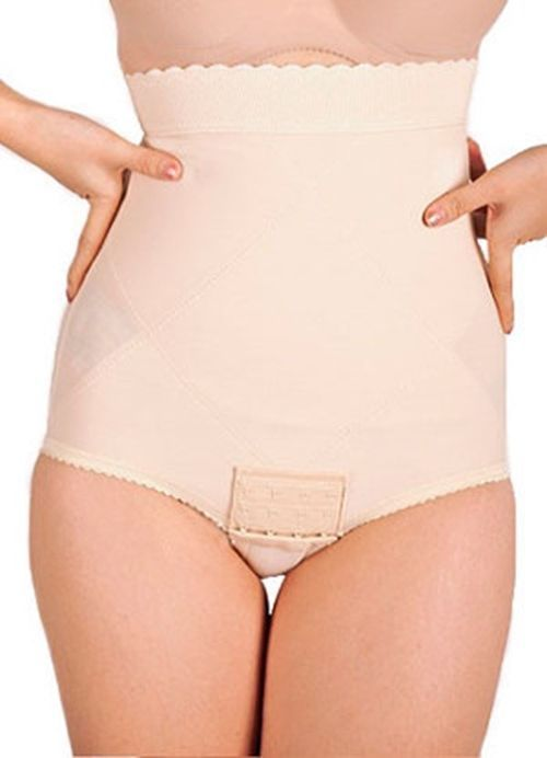 17c7c90038b88 Post Pregnancy Belly Band C Section Belly Wrap Waist Cincher Girdle Kit  3  Beige