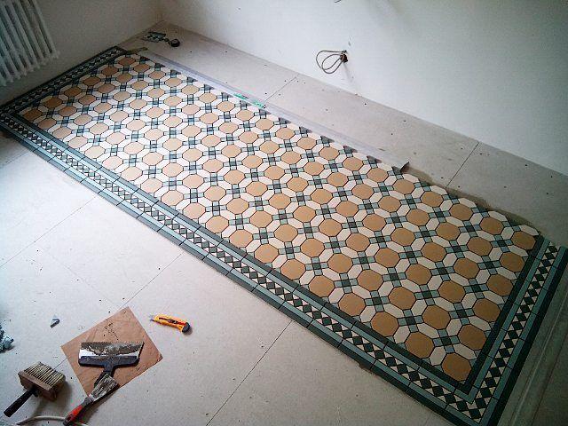 Victorian Geometric Floor Tiles Topcer Belfast Викторианская метлахская плитка производства Португалии Фабрика