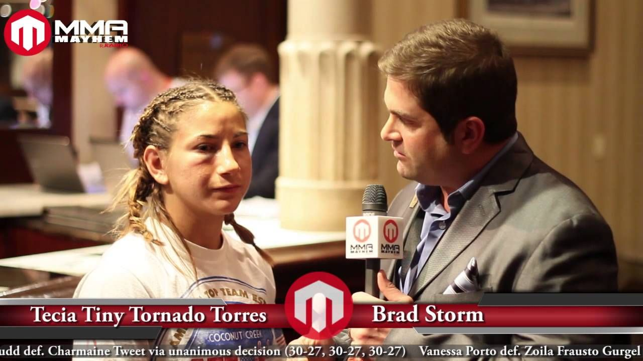 Invicta FC 7 Post Fight Interview With Tecia Torres