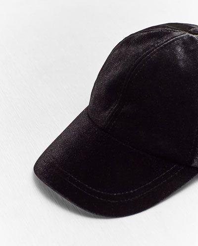 c8081fc1d21 ZARA - WOMAN - VELVET CAP