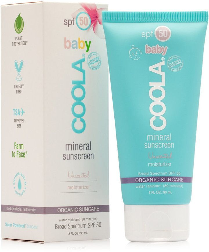 Coola Baby Mineral Sunscreen Unscented Moisturizer Spf 50 Reviews Skin Care Beauty Macy S With Images Organic Sunscreen Unscented Moisturizer Mineral Sunscreen
