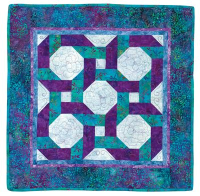 Snowball quilt pattern with Bright Hopes blocks from the book ... : snowball quilt patterns - Adamdwight.com