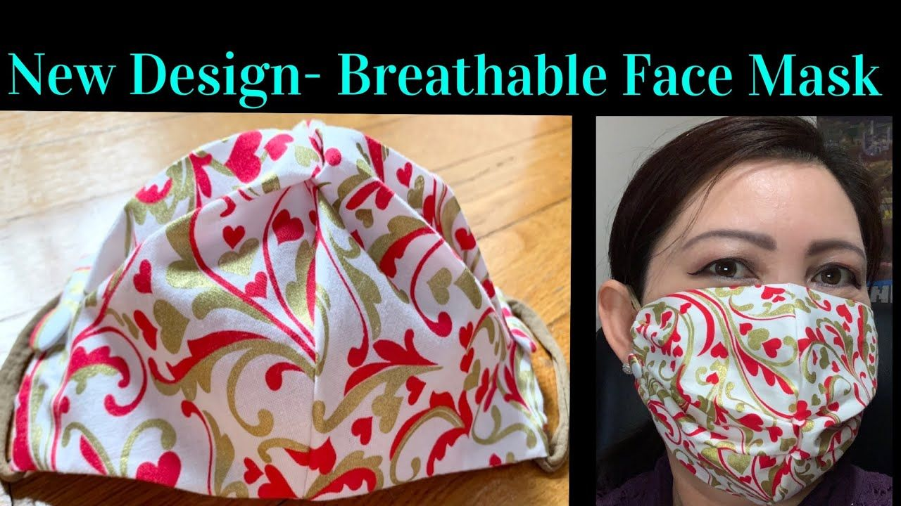 New Design DIY Breathable Stylish Summer Face Mask How