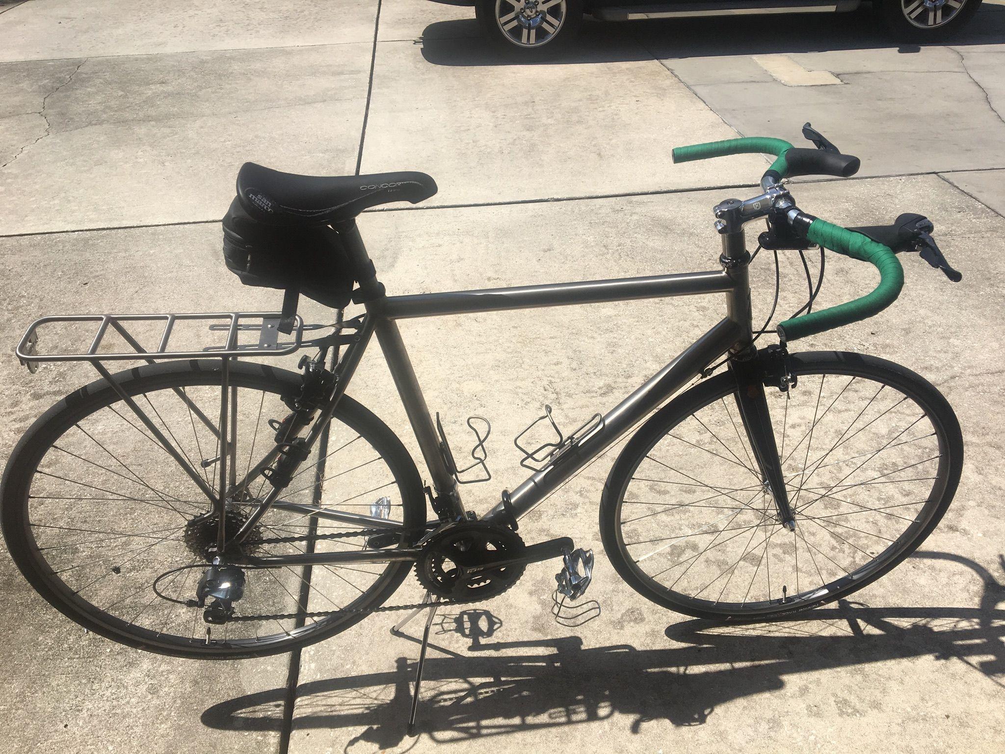 David39s Stoater Rohloff With Tubus Racks Touring Bike