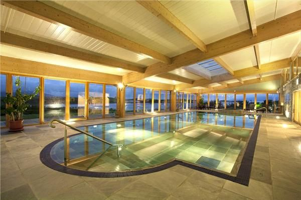 A Whole Island Off Ireland Indoor Pool Private Island Luxury Real Estate