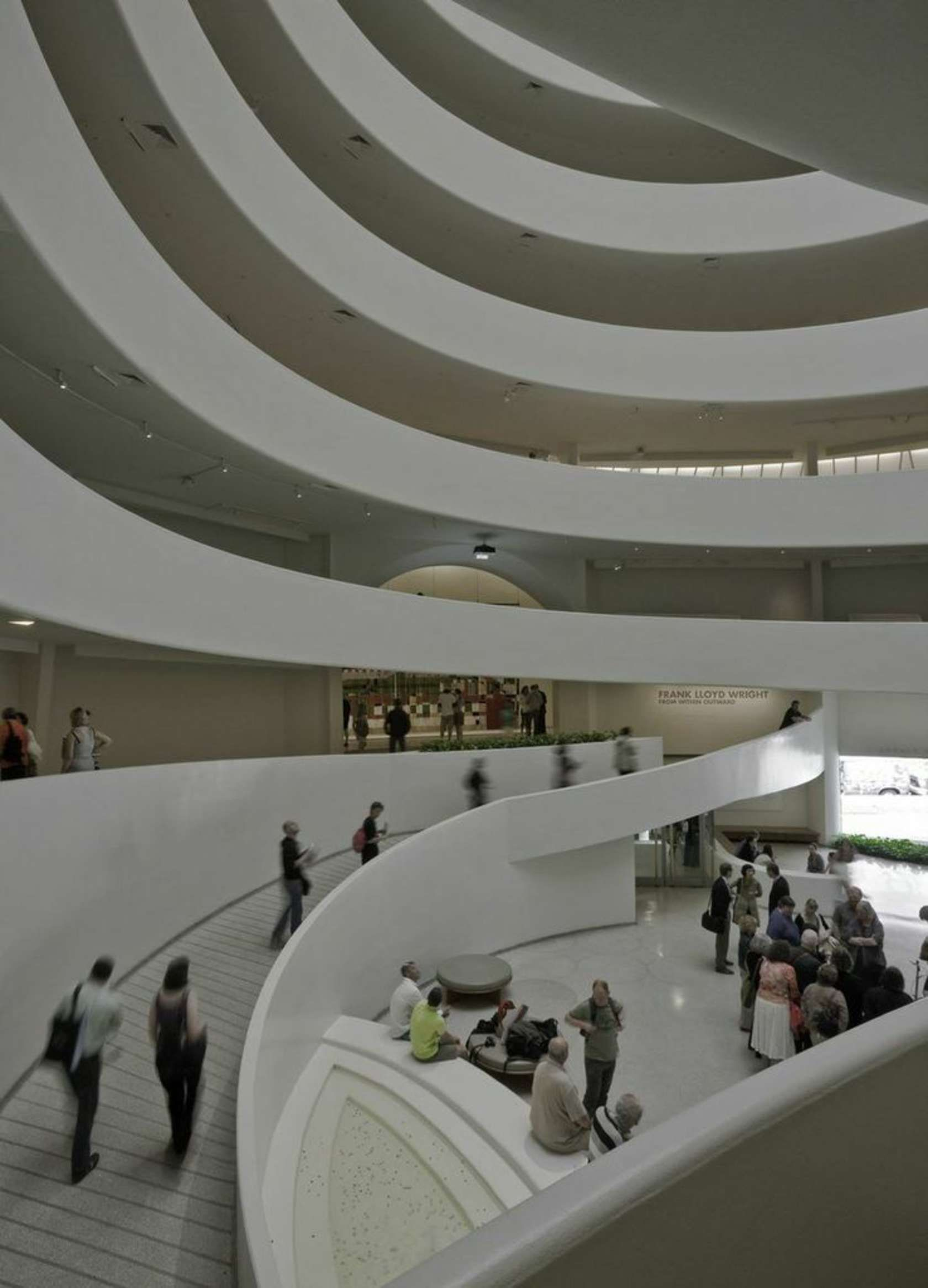 Solomon R Guggenheim Museum New York City Frank Lloyd Wright Frank Lloyd Wright Buildings Architecture