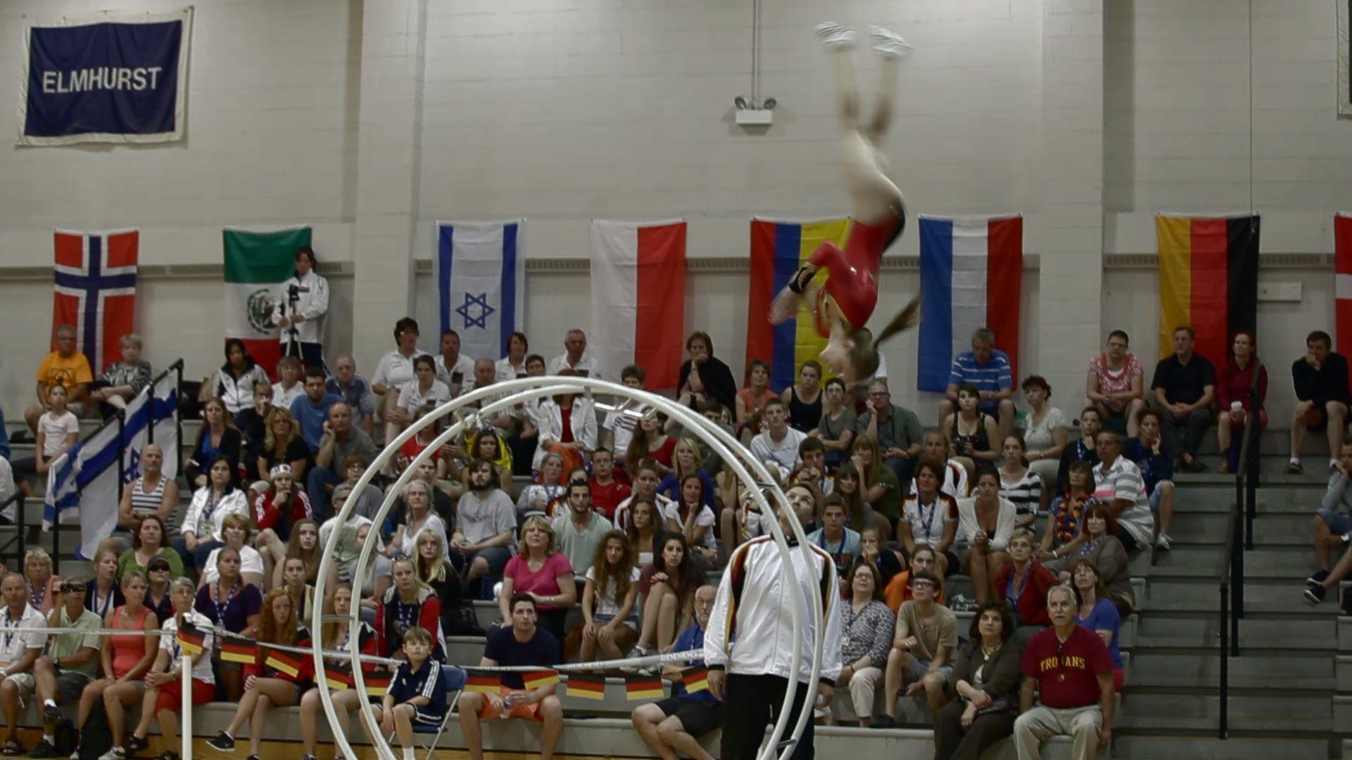 WC 2013 in Wheel Gymnastic Team Germany vault