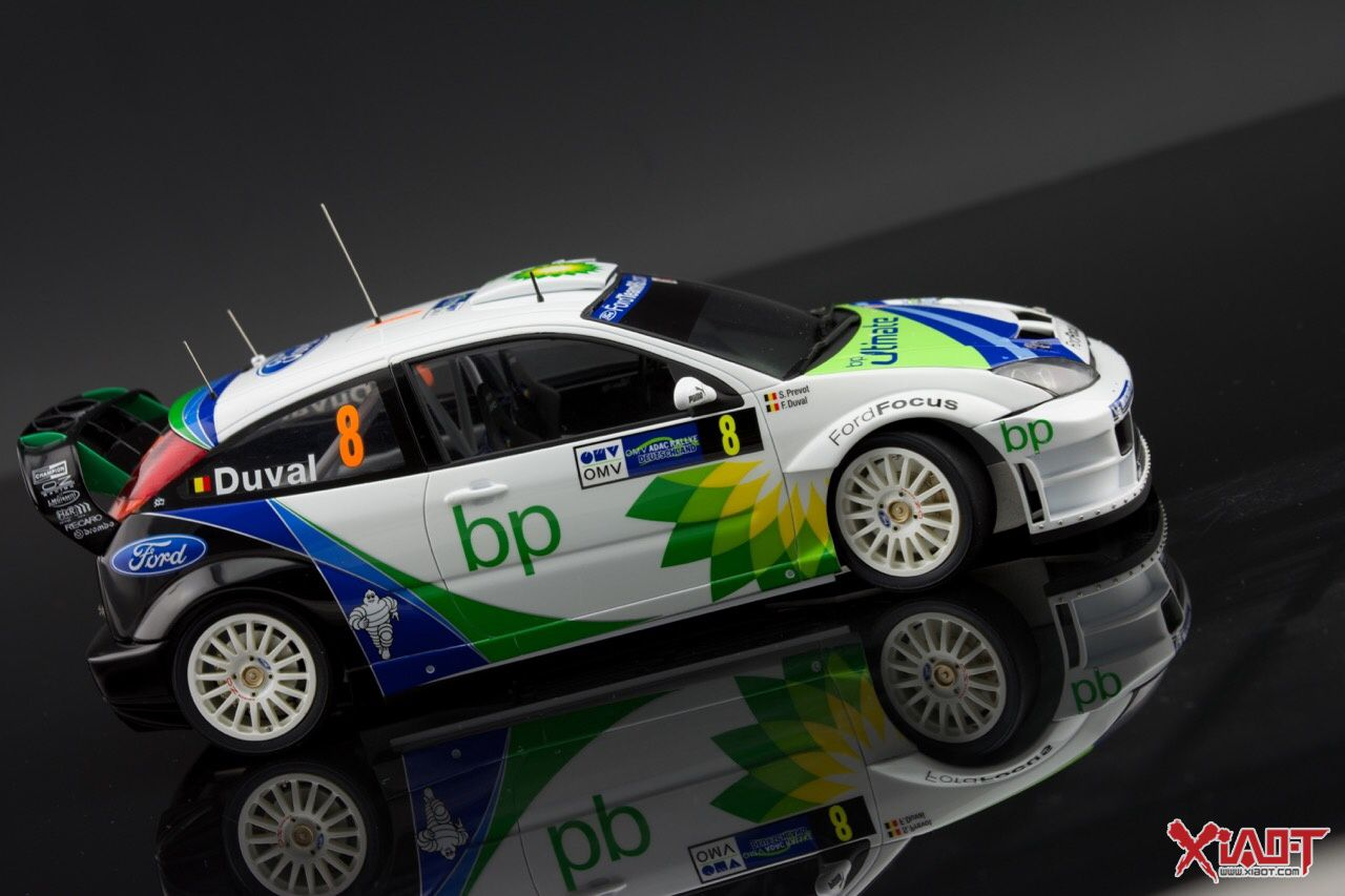 Scale Model Rally Racing Car 1/24 Hasegawa Ford Focus RS WRC 04 ...