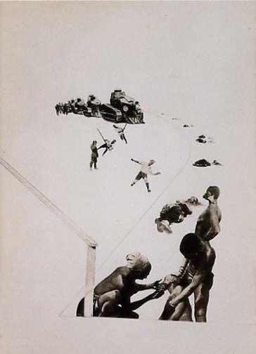 Laszlo Moholy-Nagy - Militarism (1924) #photomontage