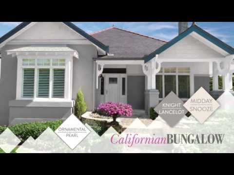 Exterior Colours With Shaynna Blaze California Bungalow