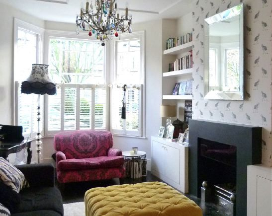 Victorian terraced house with open plan living room ...