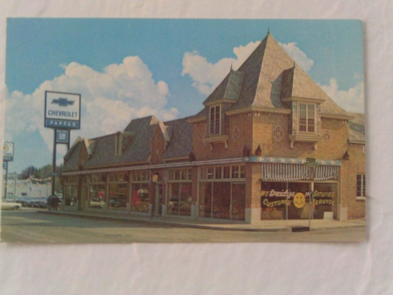 1960 S Pappas Chevrolet Dealership Kansas City Missouri Chevrolet Dealership Dealership Car Dealership