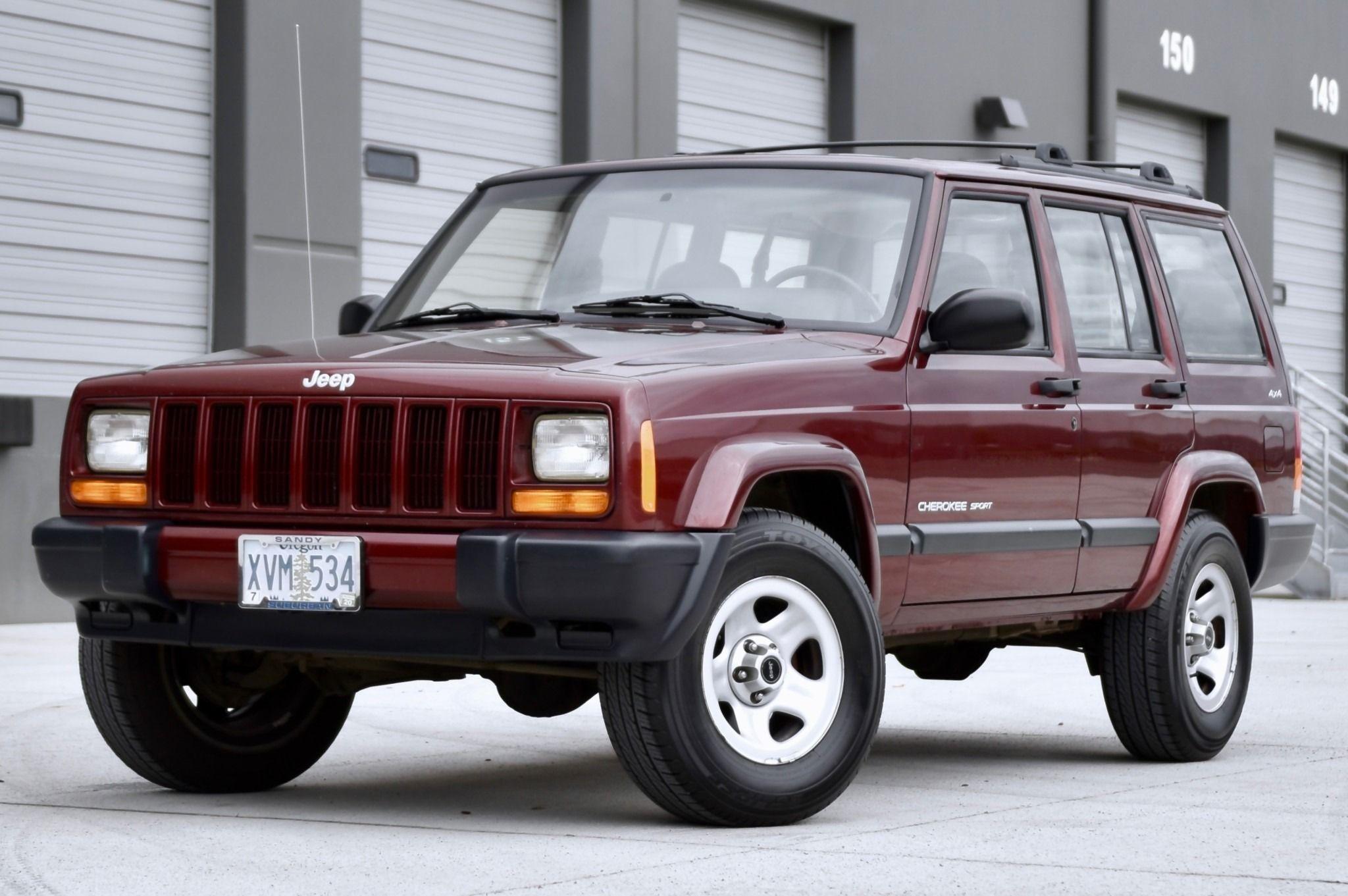 2000 Jeep Cherokee Sport 4×4 Cherokee sport, Jeep