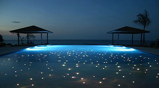 fiber optic illuminated pools & fiber optic illuminated pools | swimming pools | Pinterest ... azcodes.com