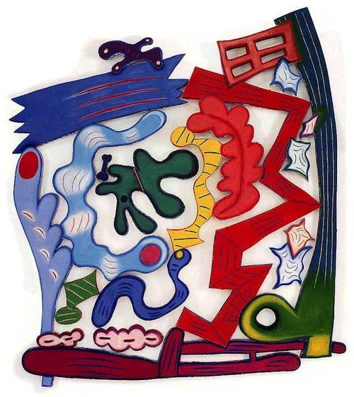 "Elizabeth Murray, ""Worm's Eye,"" 2002. Courtesy The Pace Gallery, New York."