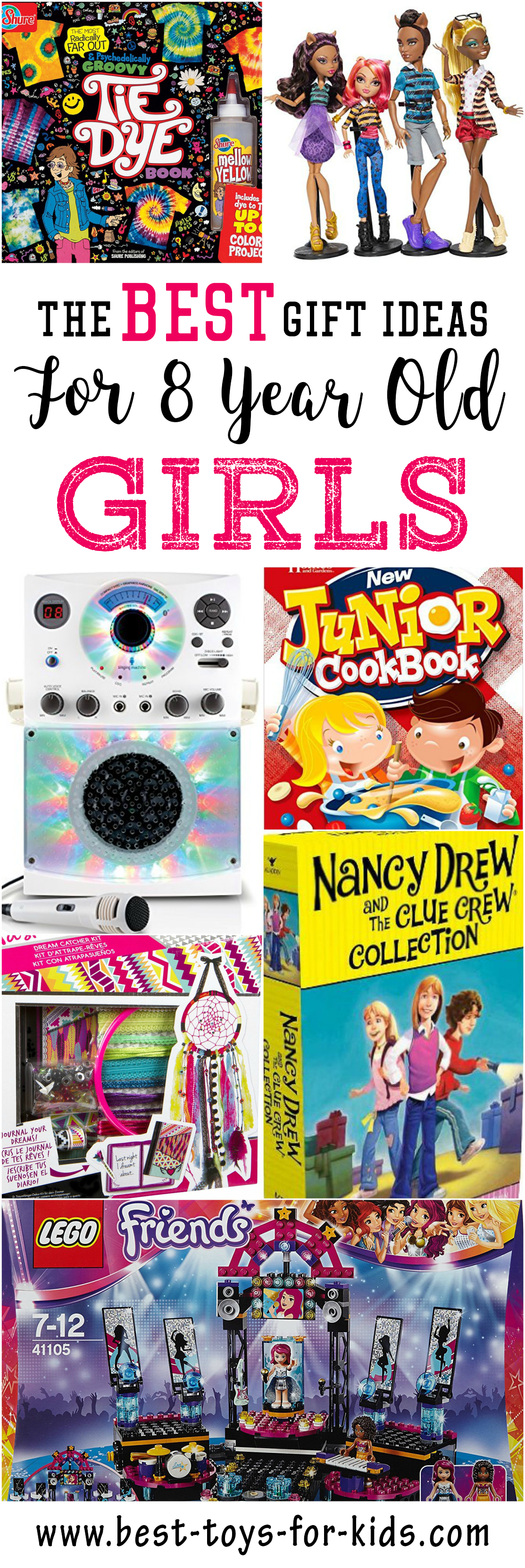 Best Gift Ideas for 8 Year Old Girls | 8 year old ...