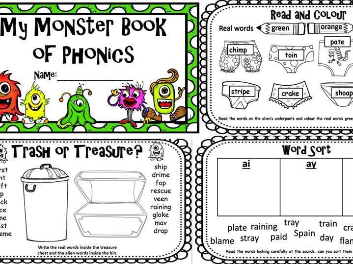 Activities For Phonics Screening