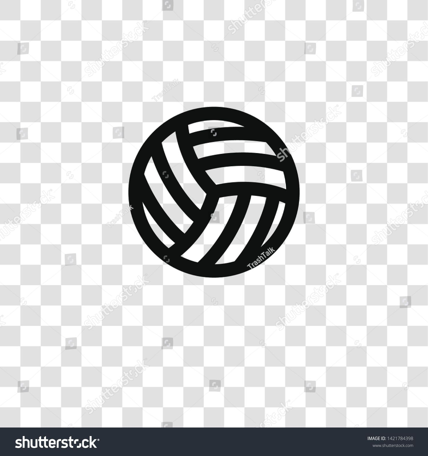 Volleyball Icon From Miscellaneous Collection For Mobile Concept And Web Apps Icon Transparent Outline Thin Lin Website Icons Website Design Design Tutorials