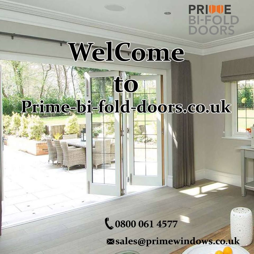 Welcome To Prime Bi Fold Doors We Are Specialized In Supplying And Installing High Quality Designer Bi F Bifold Doors Sliding Patio Doors Sliding Door Company