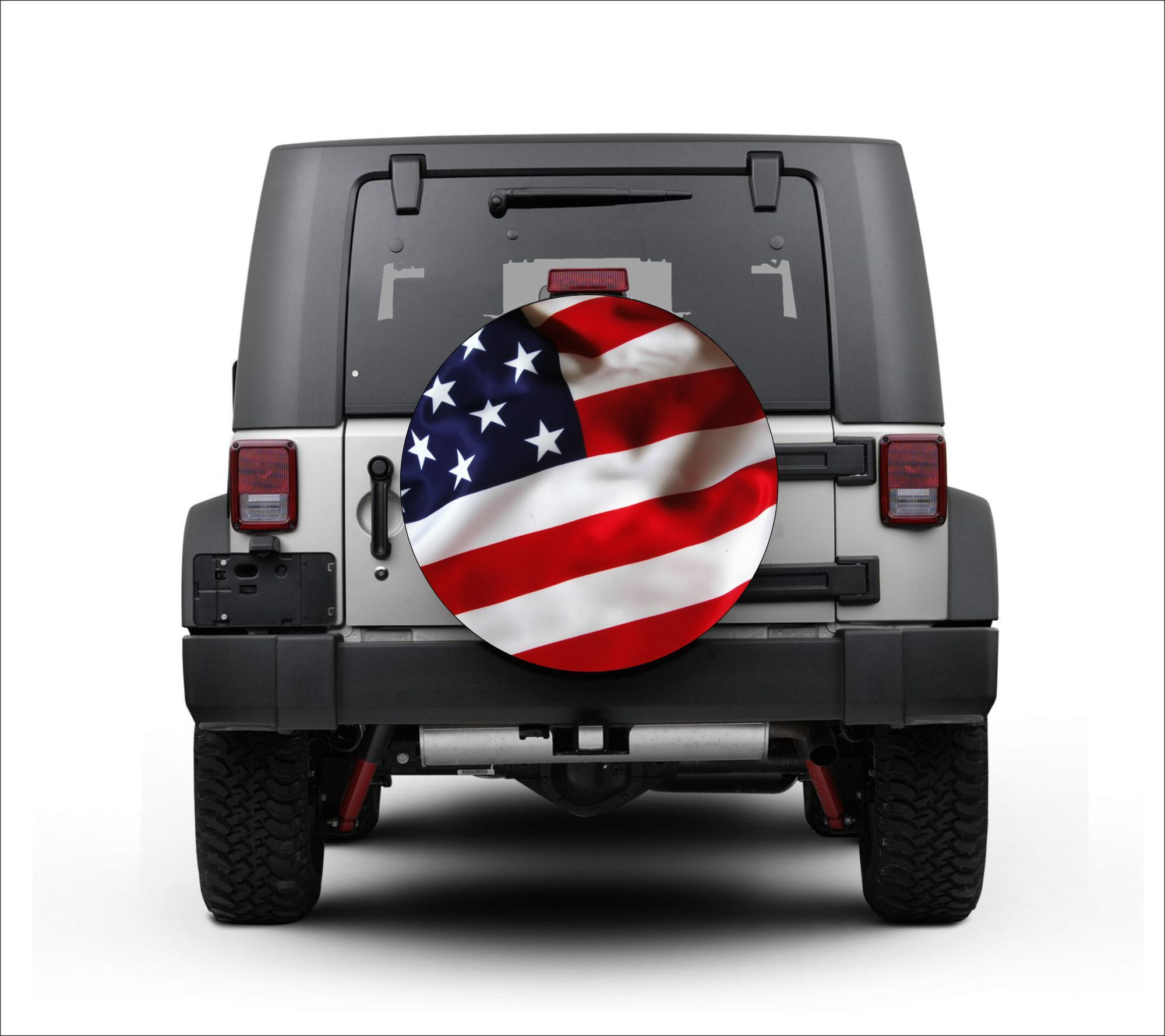 Universal Tire Cover Wheel Cover For Jeep Wrangler American
