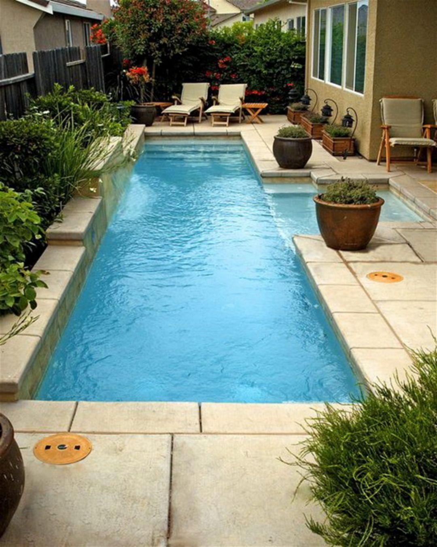 Marvelous Small Pool Design Ideas 1037 Pool Waterfall Backyard