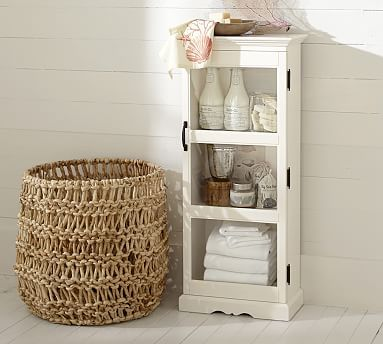 Franklin Floor Cabinet #potterybarn