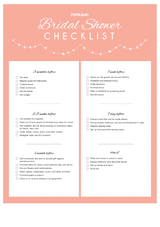 Looking For The Best Free Wedding Checklist HereS A Free