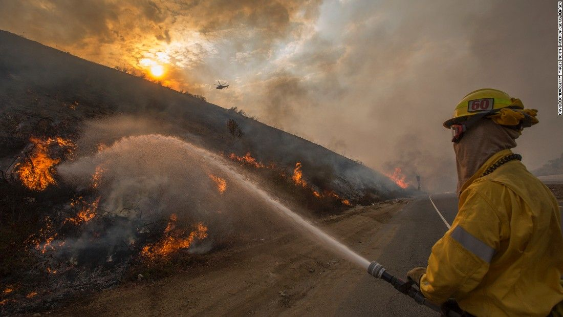 La Tuna Wildfire No Active Fire Left Chief Says Climate