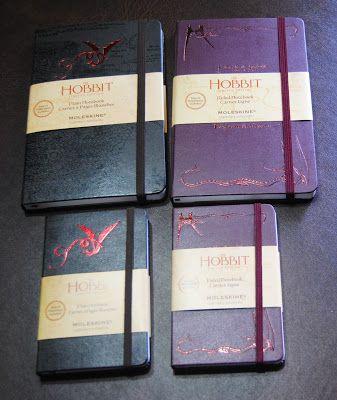 Le Moleskine in edizione limitata create per Lo Hobbit   Tolkien collection