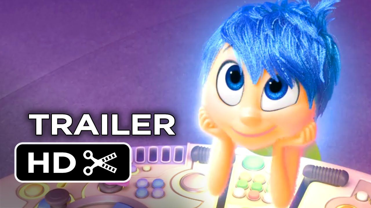 """2nd trailer arrives for Pixar's next film! - """"See the world from the Inside Out."""""""